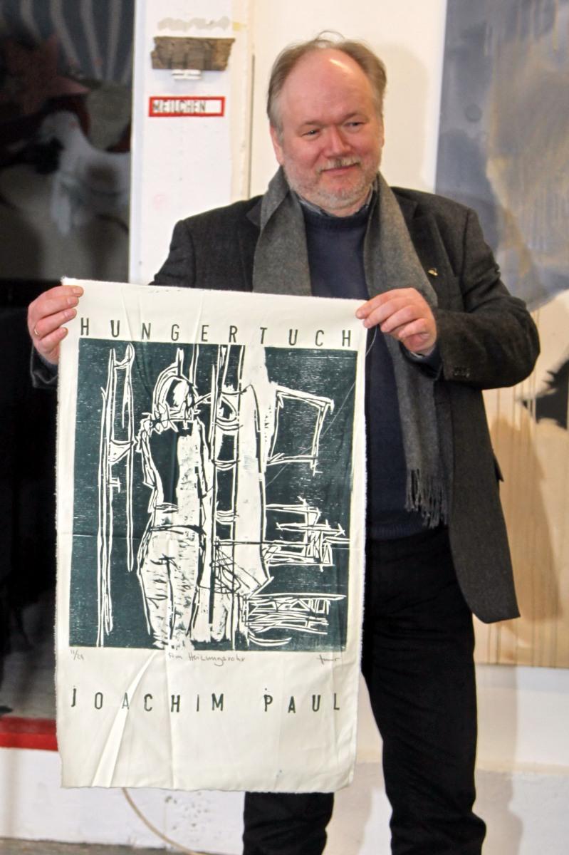 04.02.2012 - Joachim Paul erhält Künstlerpreis DAS HUNGETUCH - Foto: D. Meth