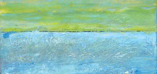 Malerei zwischen Abstraktion und Horizont