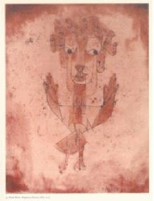 Angelus novus von P. Klee (1920)