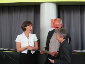 Verleihung des V.O. Stomps – Preises auf der Mainzer Minipressen-Messe (MMPM)