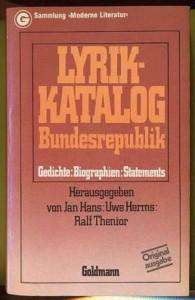 Lyrik-Katalog Bundesrepublik